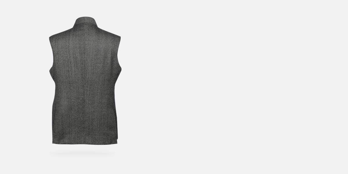 Chelsea  Gray Tweed Waistcoat- view-1