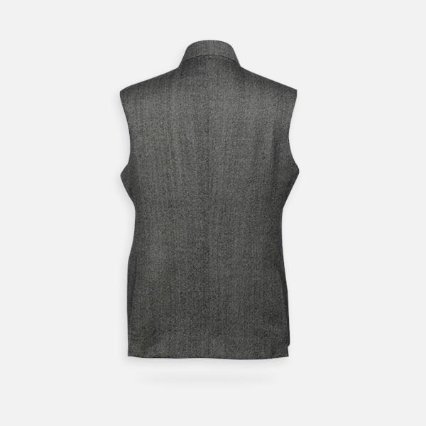 Chelsea  Gray Tweed Waistcoat-mbview-2