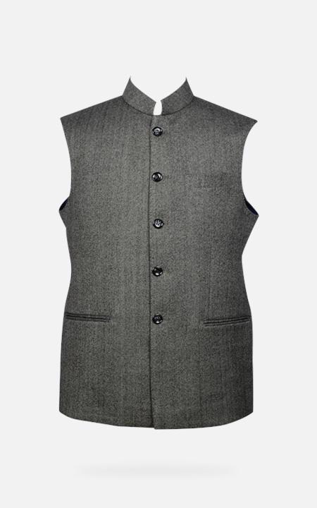 Chelsea  Gray Tweed Waistcoat