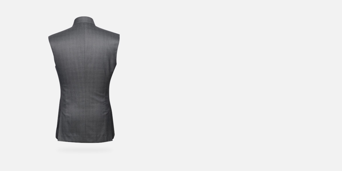 Urban Grey Checks Jacket- view-2