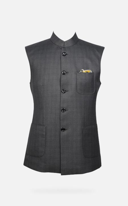 Urban Grey Checks Jacket