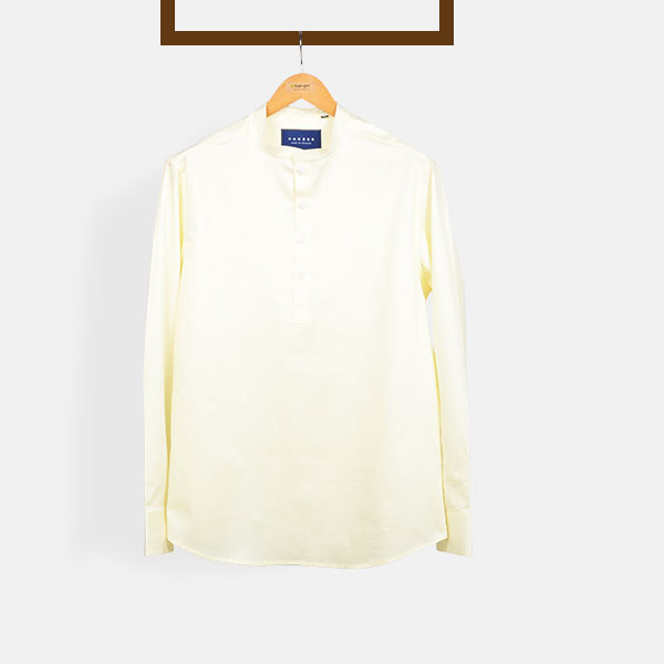 Ivory Imperial Henley Shirt-mbview-1