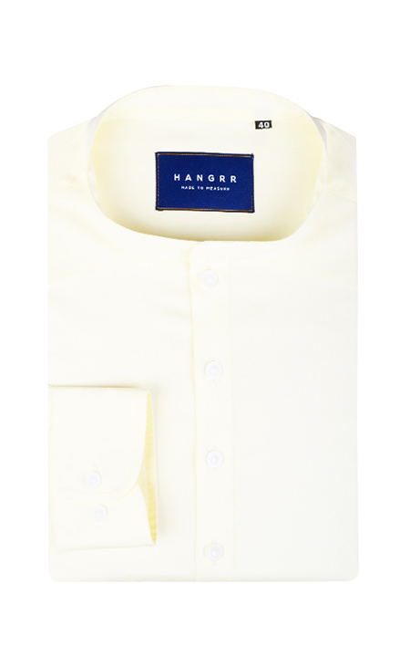 Ivory Imperial Henley Shirt