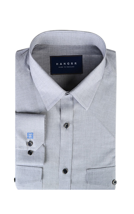 Giza Oxford Grey Shirt