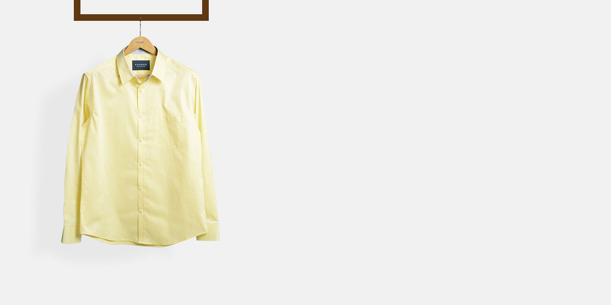 Lemon Yellow Imperial Shirt- view-1