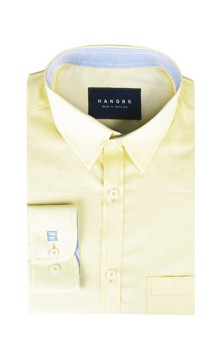 Lemon Yellow Imperial Shirt