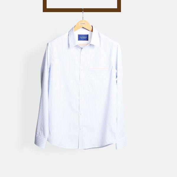 Blue & Black Pinstripes Shirt-mbview-main