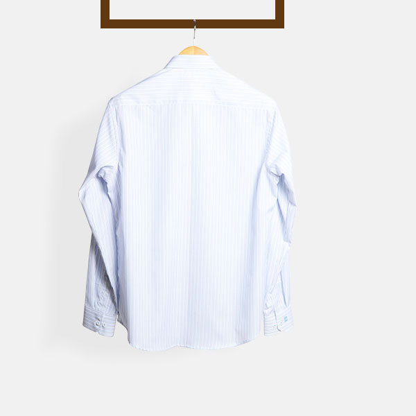 Blue & Black Pinstripes Shirt-mbview-2