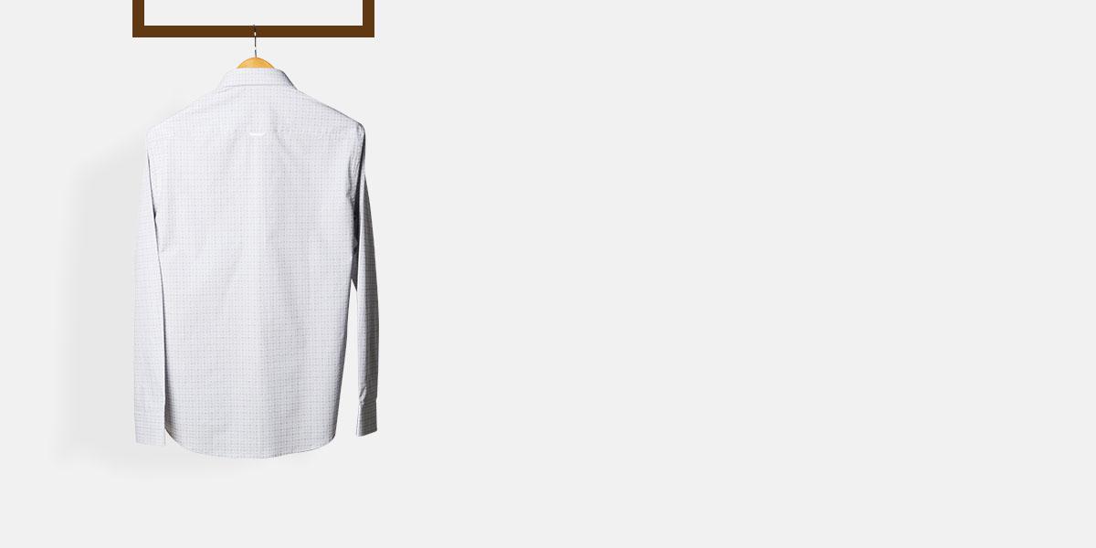 Black & Grey Hairline Checks Shirt- view-2