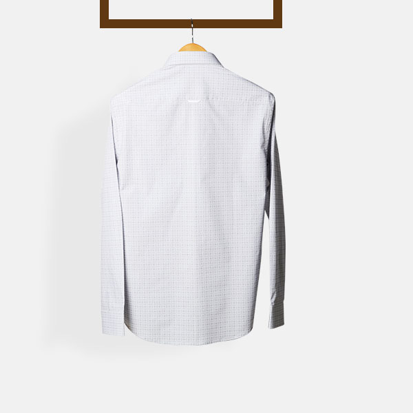 Black & Grey Hairline Checks Shirt-mbview-2