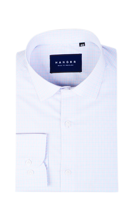 Pink & Blue Overchecks Shirt