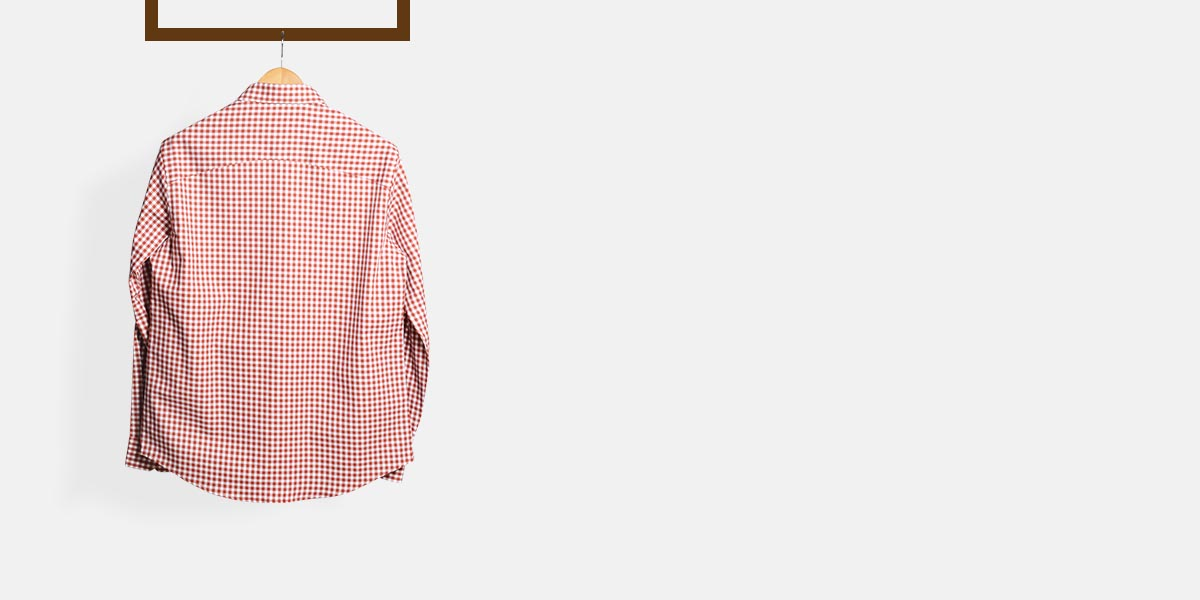 Florence Brick Gingham Shirt- view-2