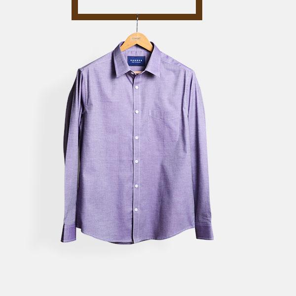 Wine Crossweave Shirt-mbview-1