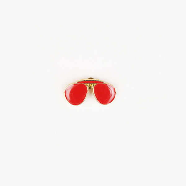 Cocktail Red Shades Lapel Pin-mbview-1