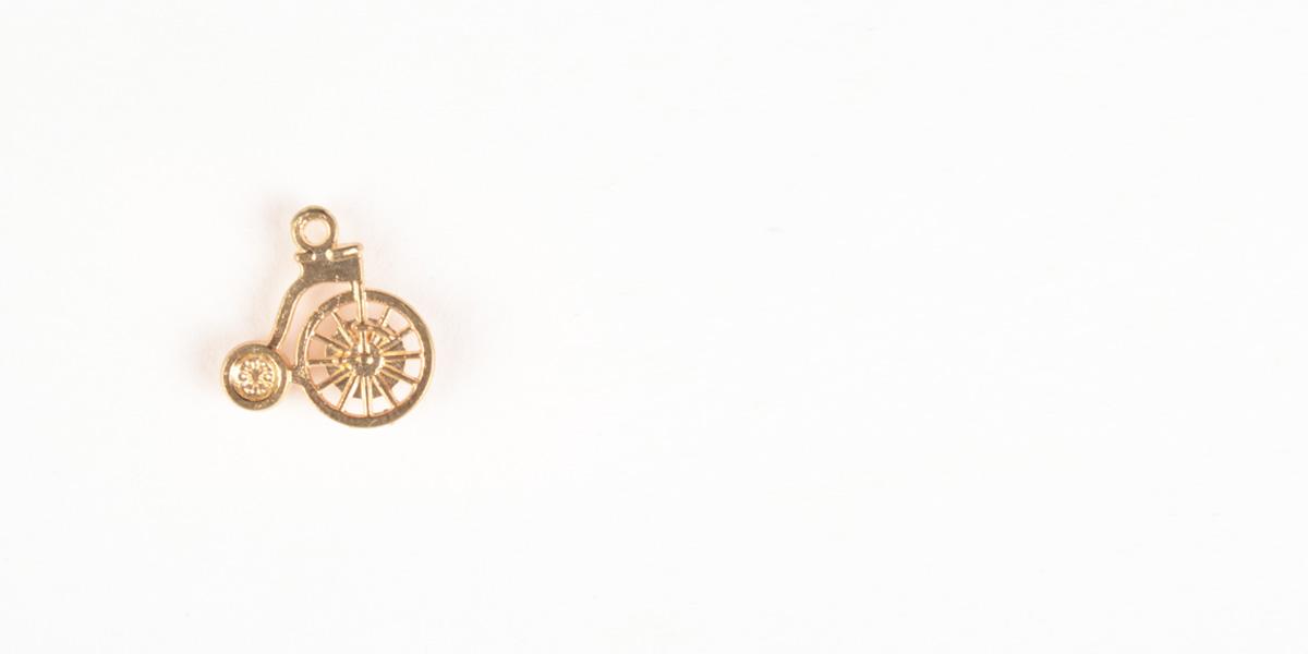 Cycle Gold-Tone Lapel Pin- view-1