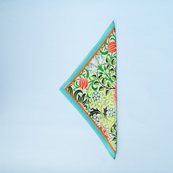 Garden Chemistry Green Silk Pocket Square-mbview-3