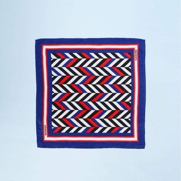 American Herringbone Silk Pocket Square-mbview-1