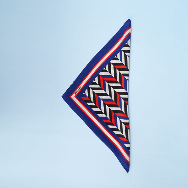 American Herringbone Silk Pocket Square-mbview-3