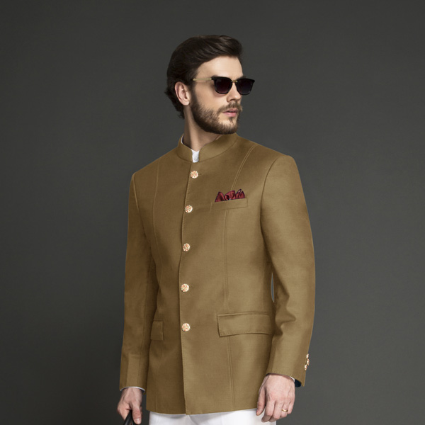 Columbia Brown Jodhpuri Suit-mbview-3