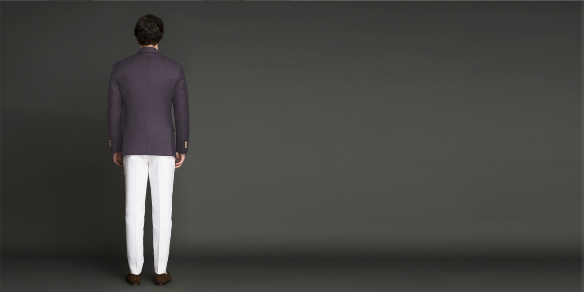 Spanish Purple Jodhpuri Suit- view-2