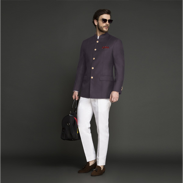 Spanish Purple Jodhpuri Suit-mbview-1