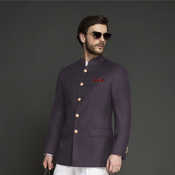 Spanish Purple Jodhpuri Suit-mbview-3