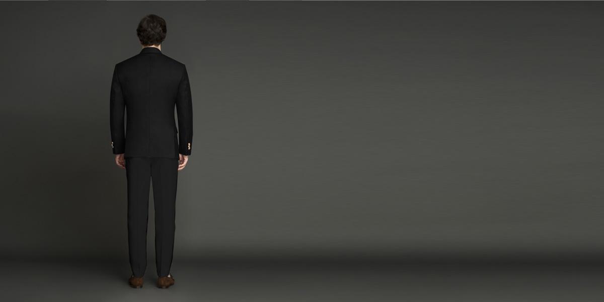 Classic Black Jodhpuri Suit- view-2