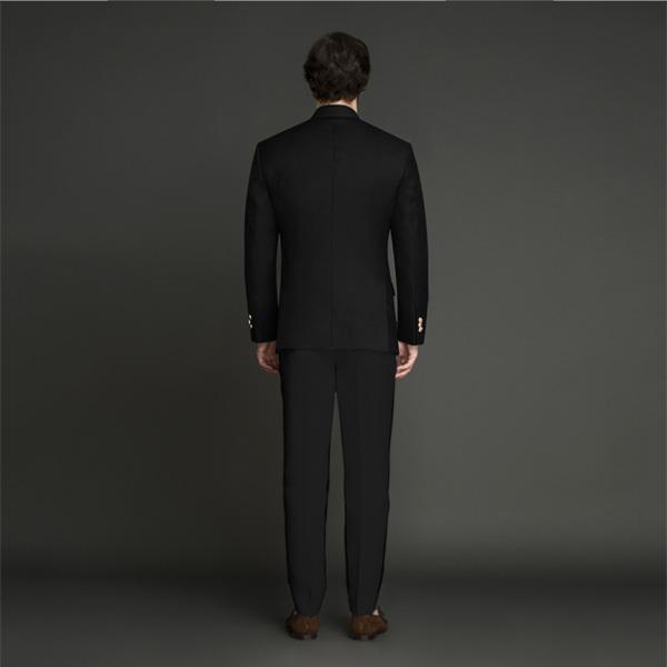 Classic Black Jodhpuri Suit-mbview-2