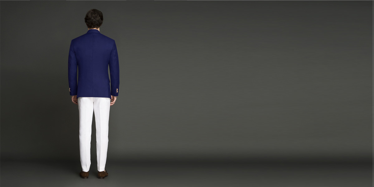 Indigo Blue Jodhpuri Suit- view-2