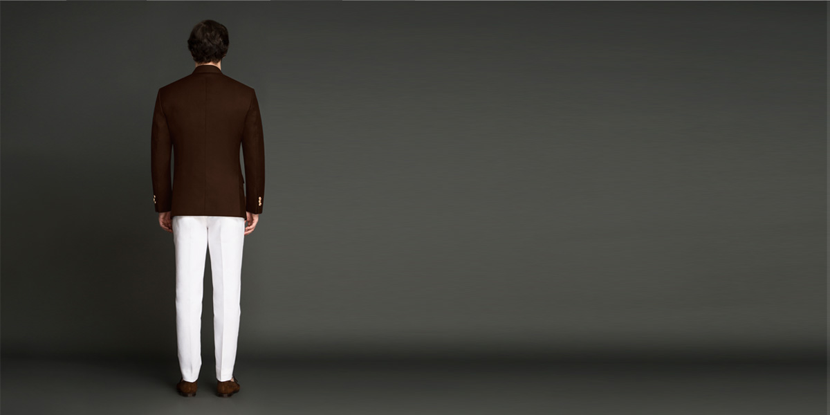 Regal Slate Brown Jodhpuri Suit- view-2