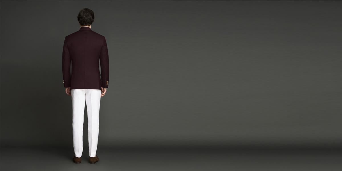 Signature Burgundy Jodhpuri Suit- view-2