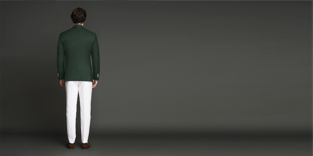 Emerald Green Jodhpuri Suit- view-2