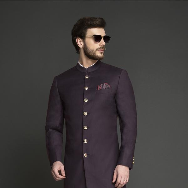 Spanish Purple Achkan-mbview-3