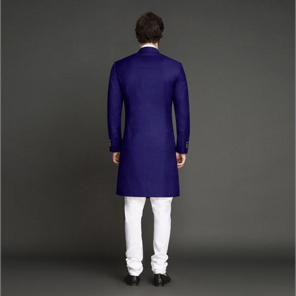 Indigo Blue Achkan-mbview-2