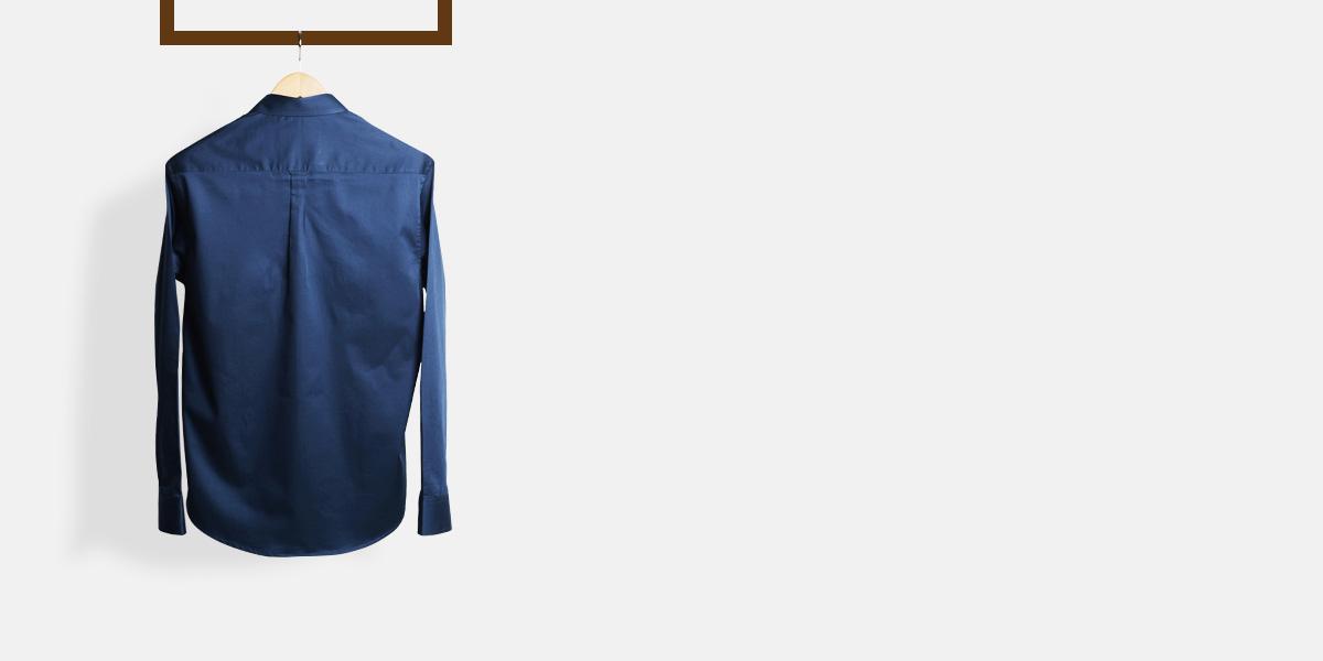 Deep Blue Golf Shirt- view-2