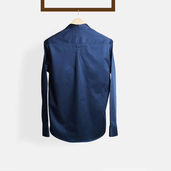 2fdb50c65 Deep Blue Golf Shirt | Custom Made by A.I.