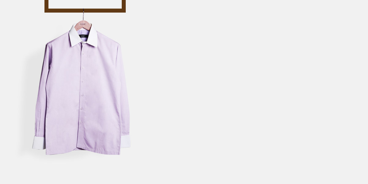 Wall Street Purple Bankers Shirt- view-1