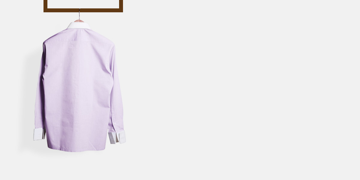 Wall Street Purple Bankers Shirt- view-2