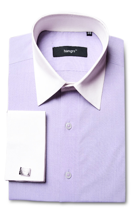 Wall Street Purple Bankers Shirt