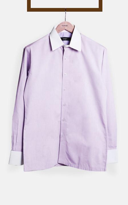 Wall Street Purple Bankers Shirt