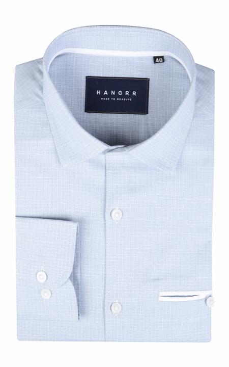 Slate Grey Checks Shirt