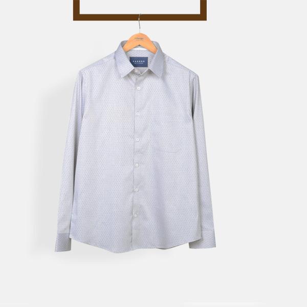 Gray Basketweave Shirt-mbview-main