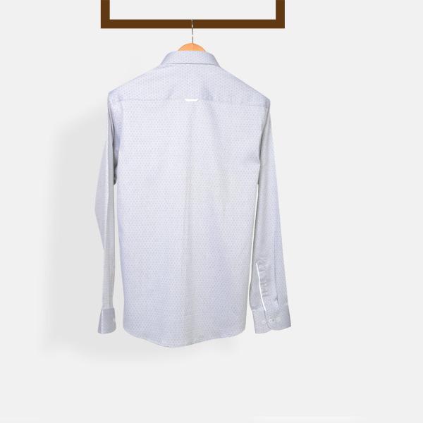 Gray Basketweave Shirt-mbview-2
