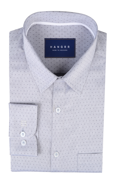 Gray Basketweave Shirt
