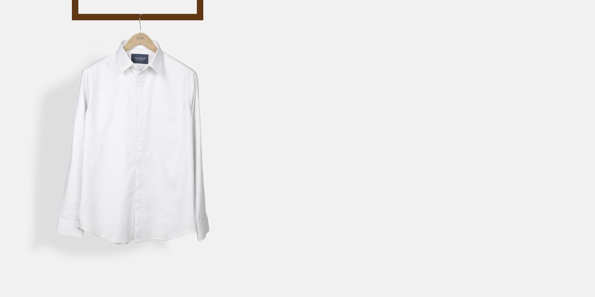 Ivory Wrinkle Free Shirt- view-1