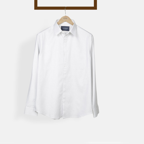 Ivory Wrinkle Free Shirt-mbview-1