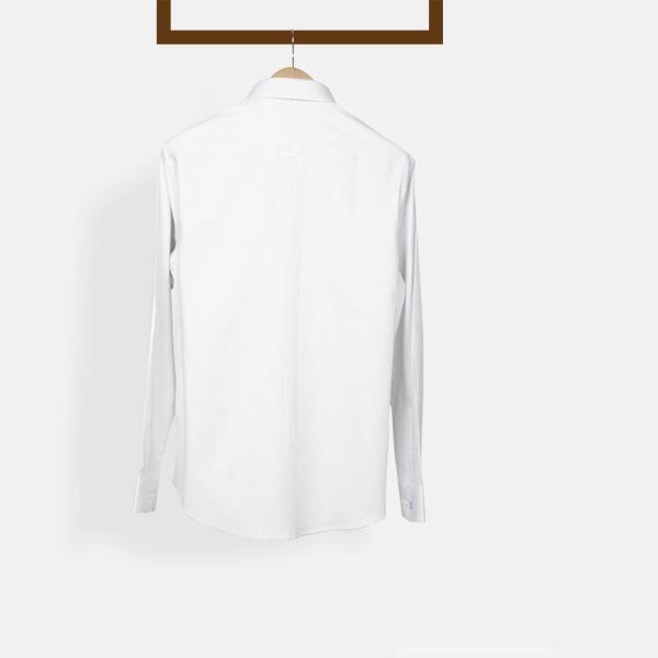 Ivory Wrinkle Free Shirt-mbview-2
