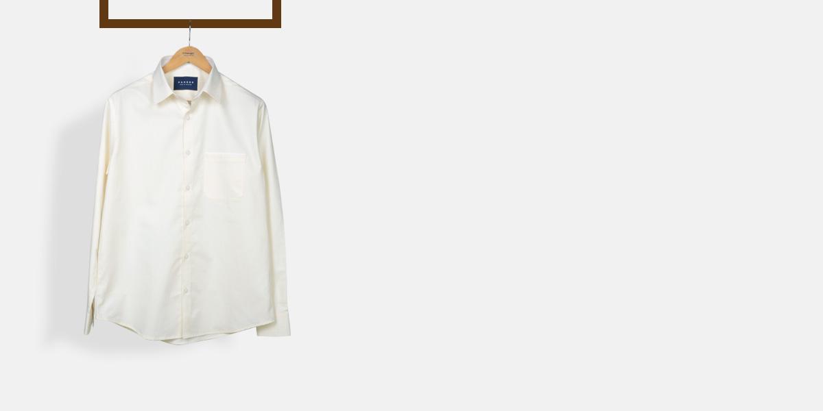 Cream Woven Shirt- view-1