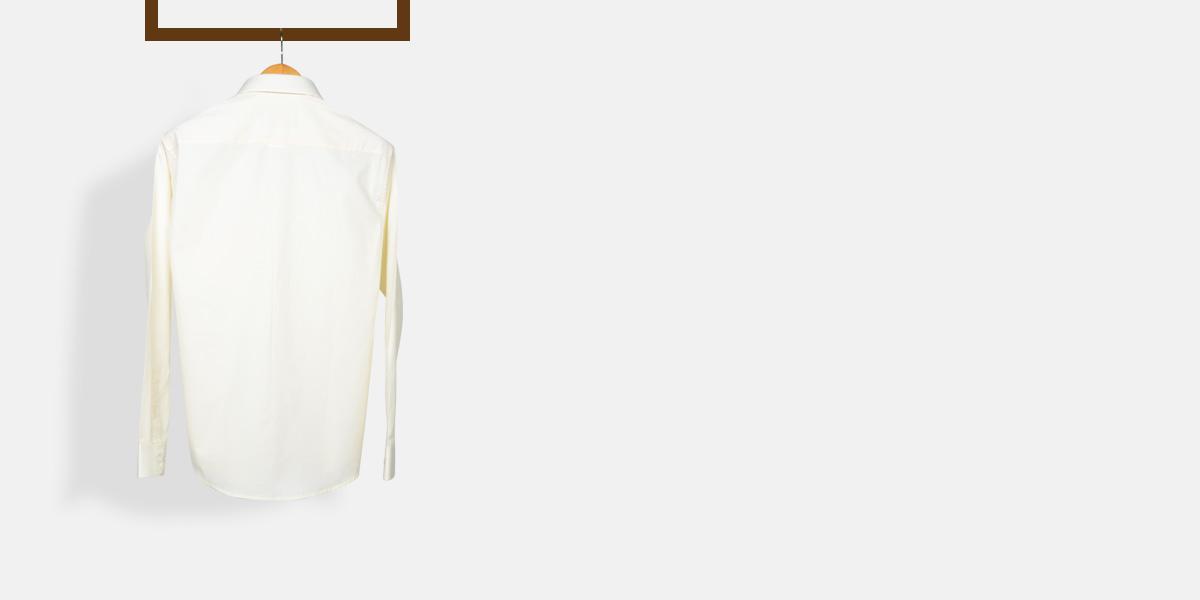 Cream Woven Shirt- view-2