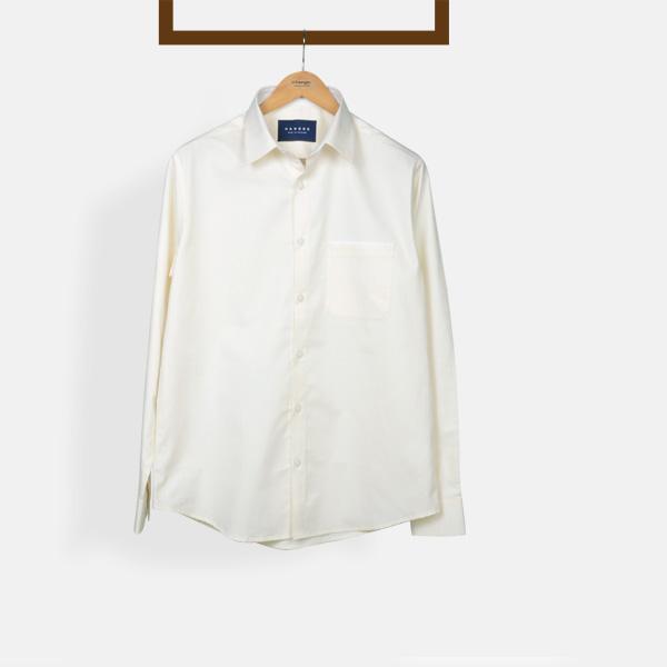Cream Woven Shirt-mbview-1
